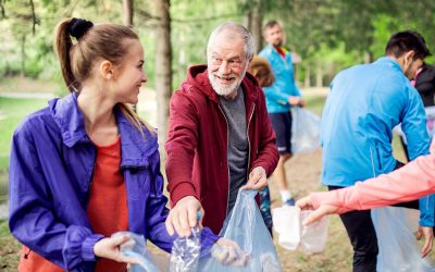 Volunteering Benefits Seniors Physically & Mentally
